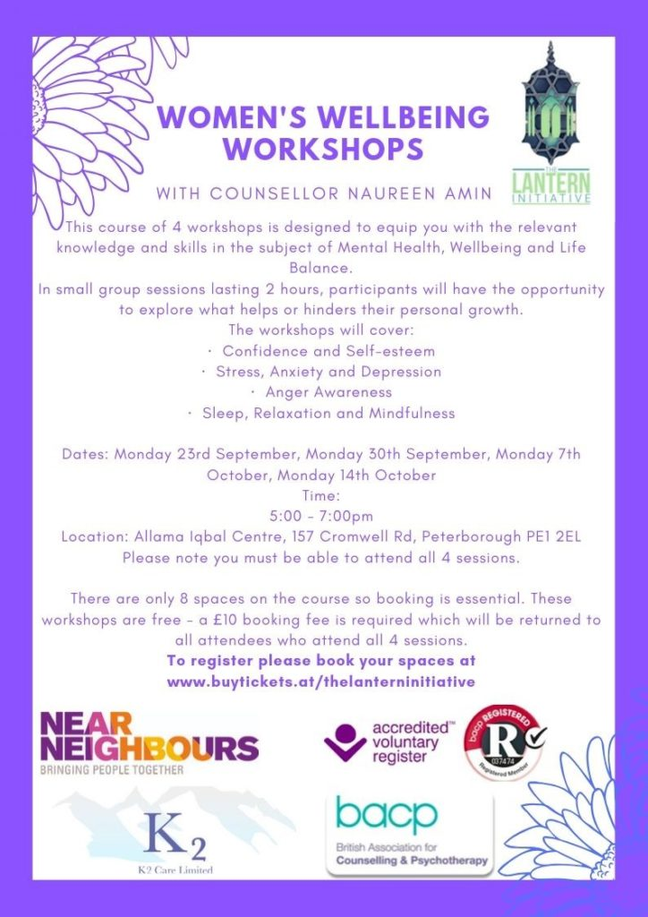 womens wellbeing workshops