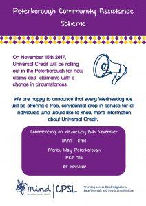 Universal Credit Poster