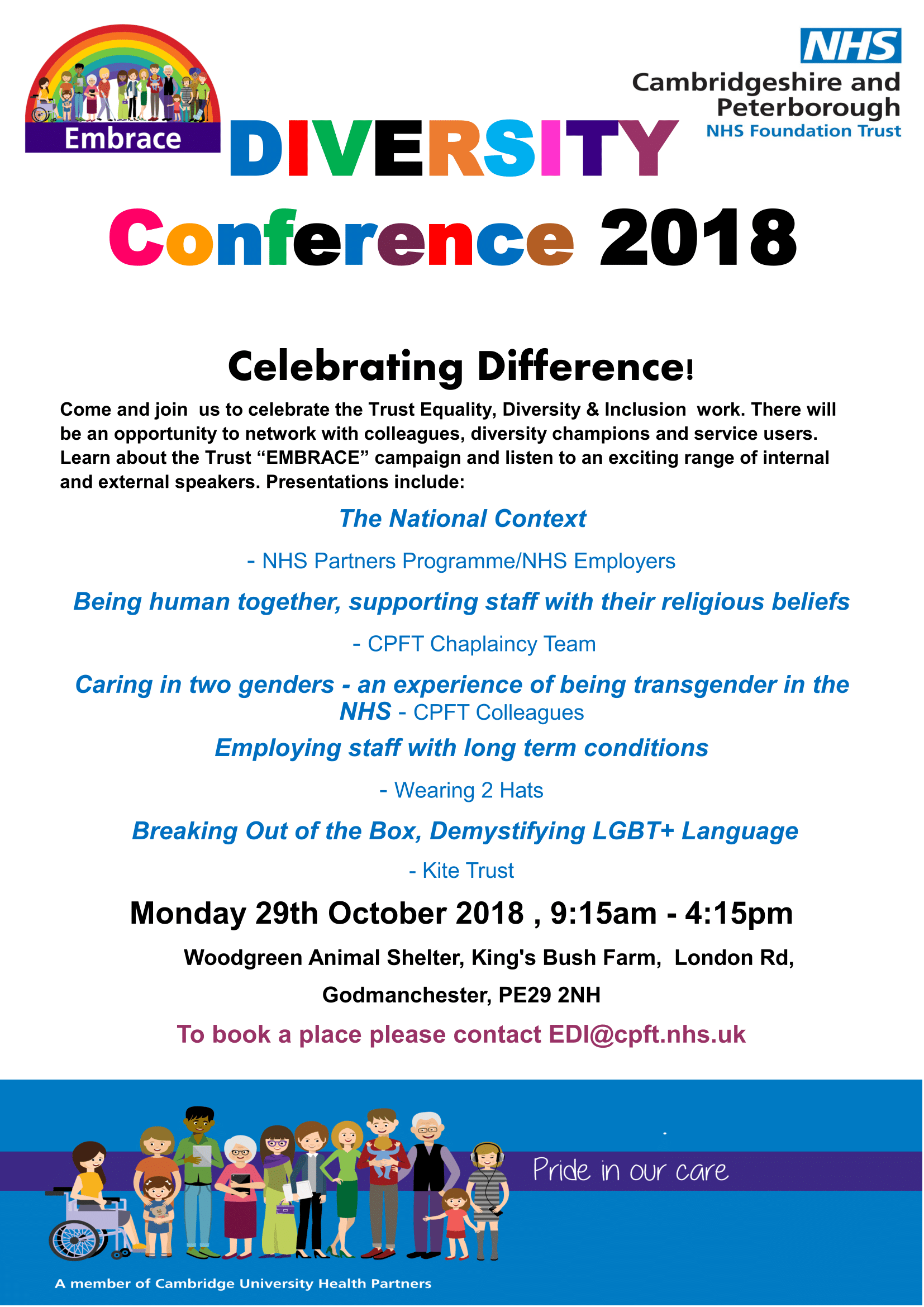 Diversity Conference 2018 - Poster