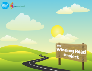 Winding road project Logo