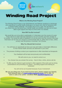 winding road poster