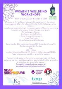 womens wellbeing workshops