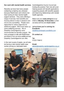 Disability Cambridgeshire Newsletter