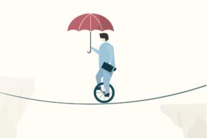 tightrope man work