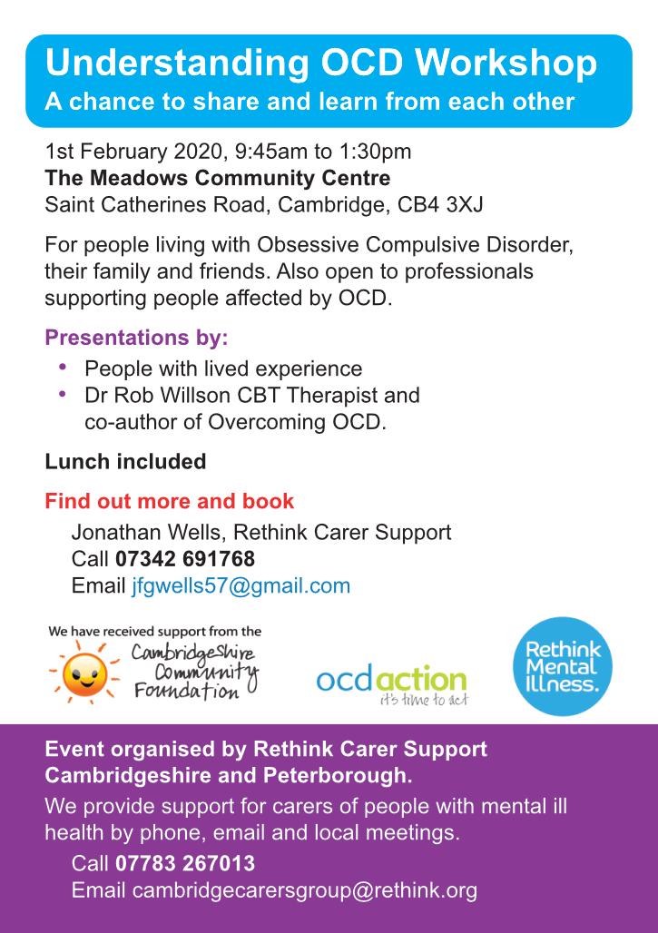 Rethink carers leaflet