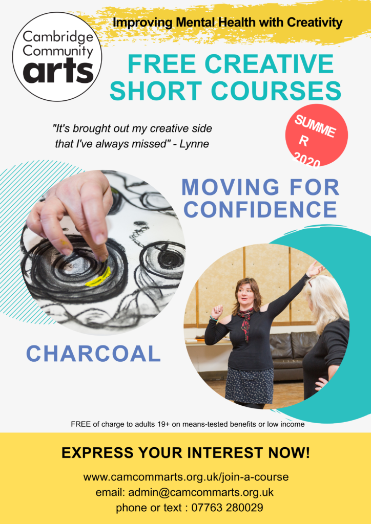 CCA Summer Short Courses 20201