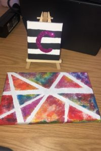 Charlottes painting