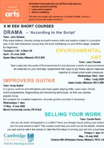 FCA Summer Short Courses 20202