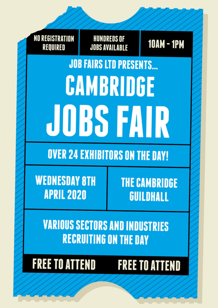 Cambridge Job Fair Poster