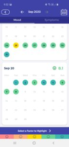 Bearable App Screenshots