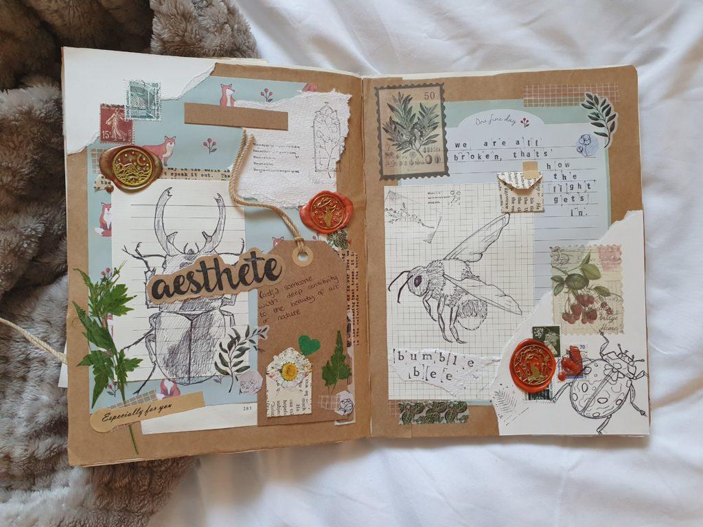 Sketchbook Page from Vickie