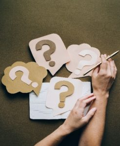 Question marks