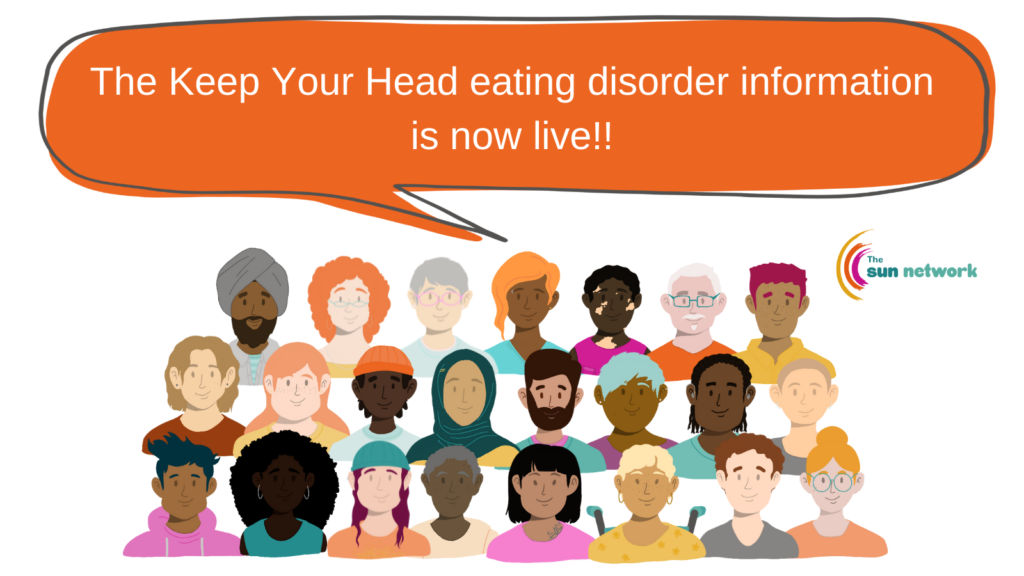 Keep Your Head eating disorder info is now live!